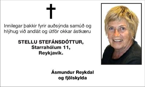 Stellu Stefánsdóttur,