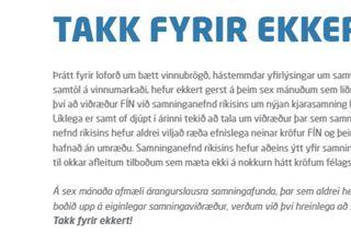 Maríanna segir engar almennilegar viðræður hjá ríkissáttasemjara um kjarasamninga hafi átt sér stað á síðustu ...