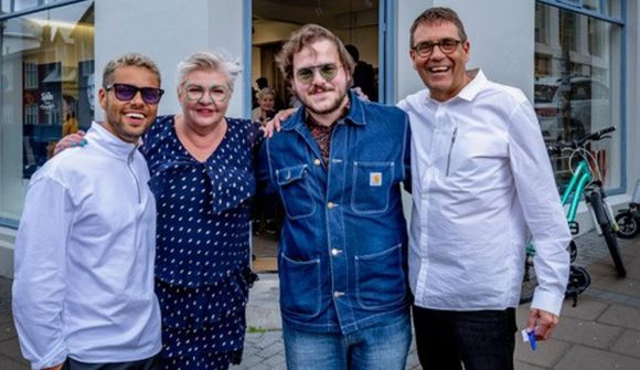 Anna Þóra og Gylfi kunna að halda partí