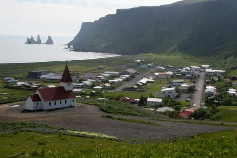 The alleged events occurred in the South Iceland town of Vík.