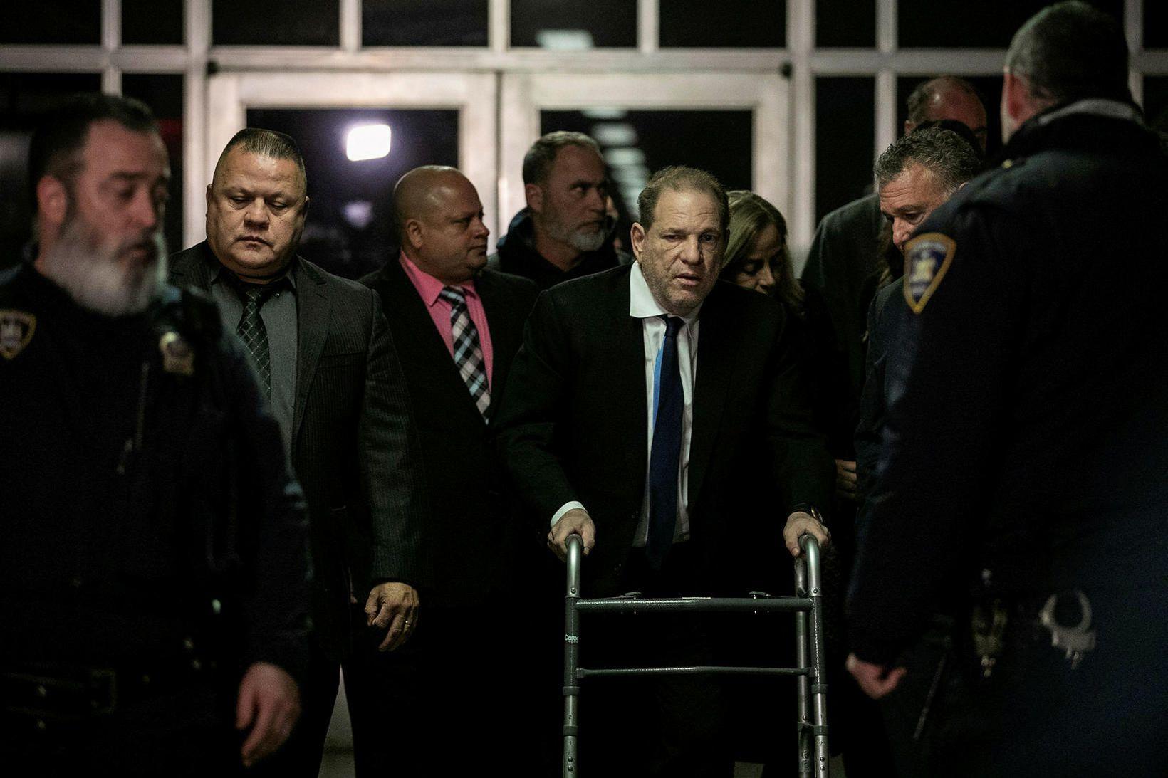 Weinstein virðist vera orðinn lélegur til heilsunnar.