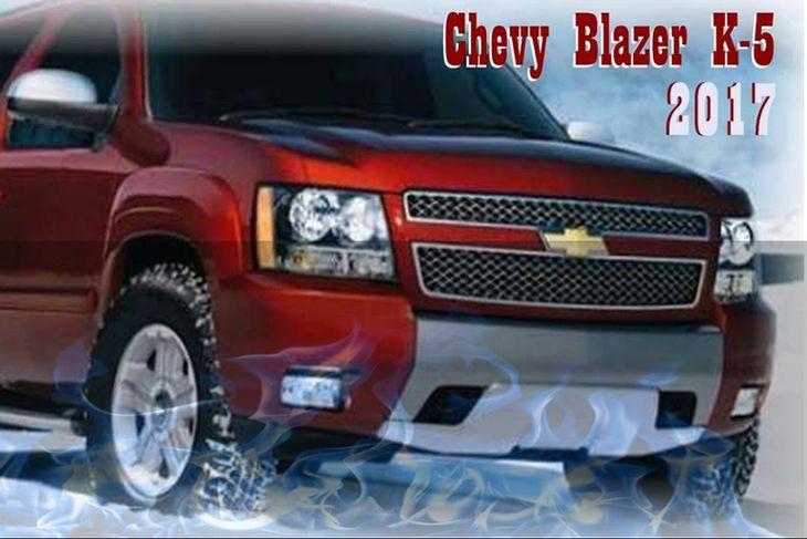 Ein hugmyndin af mörgum að útliti næsta Chevrolet Blazer