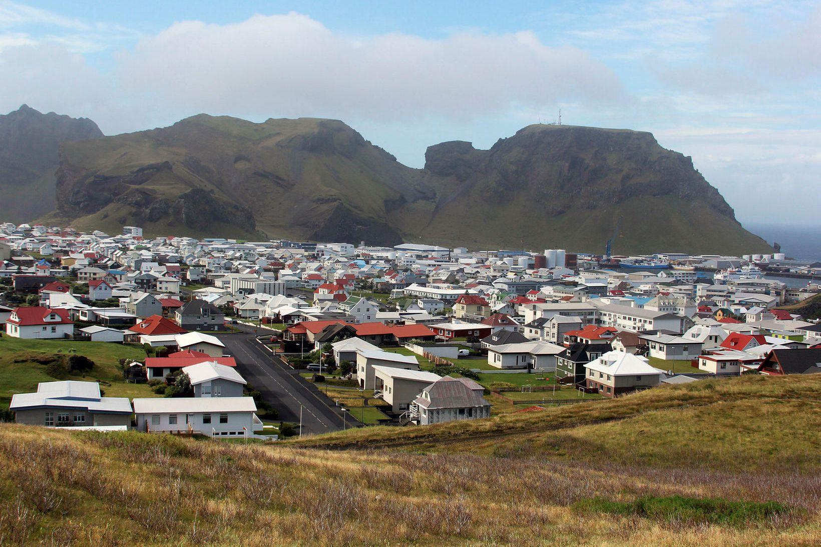 Vestmannaeyjar.