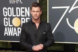 Chris Hemsworth er vinsæll og uppátækjasamur leikari.