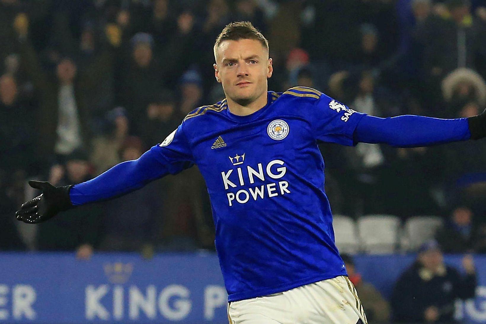 Jamie Vardy hefur verið gríðarlega drjúgur fyrir Leicester það sem …