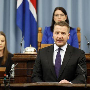 Foreign Minister Guðlaugur Þór Þórðarson.