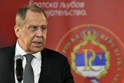 Sergey Lavrov, utanríkisráðherra Rússlands.