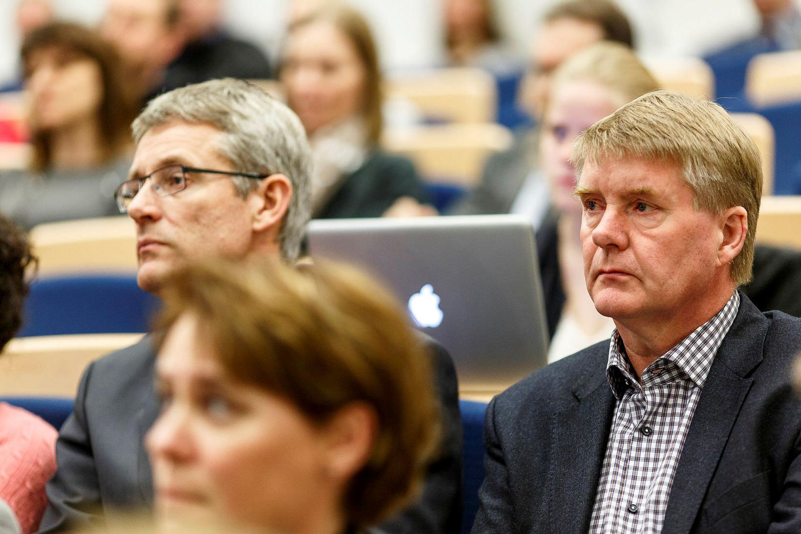 Tryggvi Gunnarsson, umboðsmaður Alþingis (t.h.).