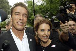 Arnold Schwarzenegger og Maria Shriver voru gift lengi.