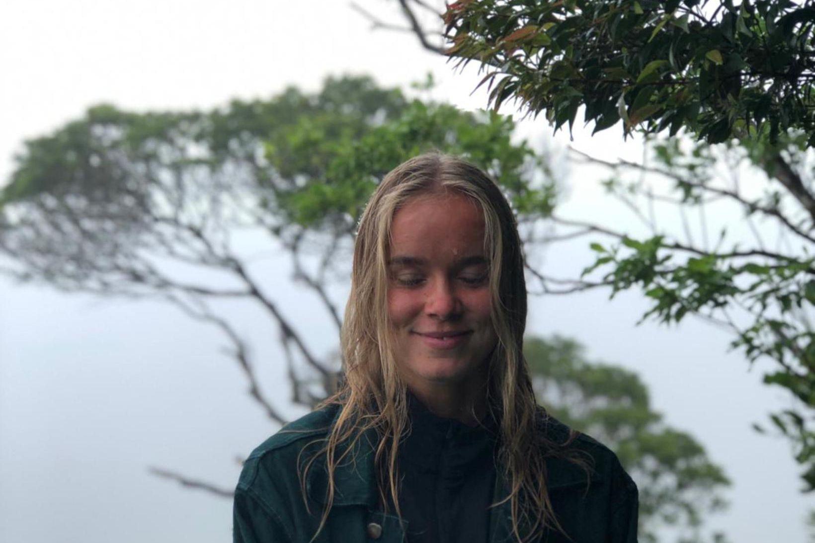 Stefanía Ásta Karlsdóttir er komin heim frá Ekvador.