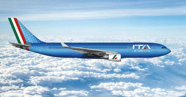 Vélar ITA Airways líta svona út.