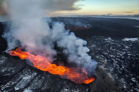 The Holuhraun eruption.