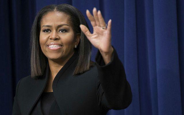 Michelle Obama deildi ræktarlagalista sínum með fylgjendu,