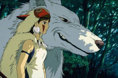 Princess Mononoke by Hayao Miyazaki is screened at Bíó Paradís on Sunday.