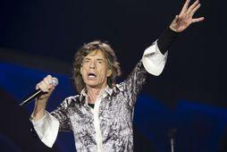 Sir Mick Jagger segir að dauði David Bowies hafi tekið mikið á hann.
