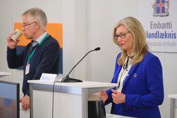 Þórólfur Guðnason og Alma D. Möller