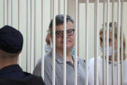 Viktor Babaryko hefur hlotið 14 ára fangelsisdóm.