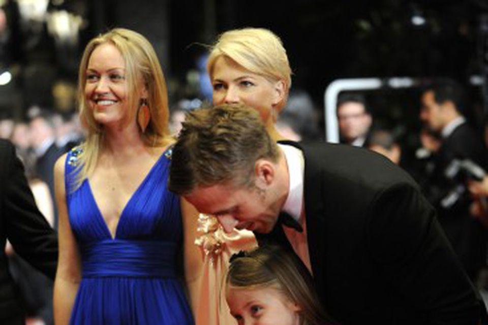 Ryan Gosling ásamt meðleikurum myndarinnar Blue Valentine í Cannes árið 2010.