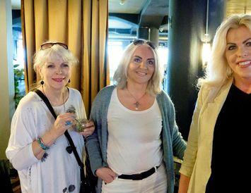 Guðrún Bergmann, Linda Baldvinsdóttir og Karen Kjerúlf.