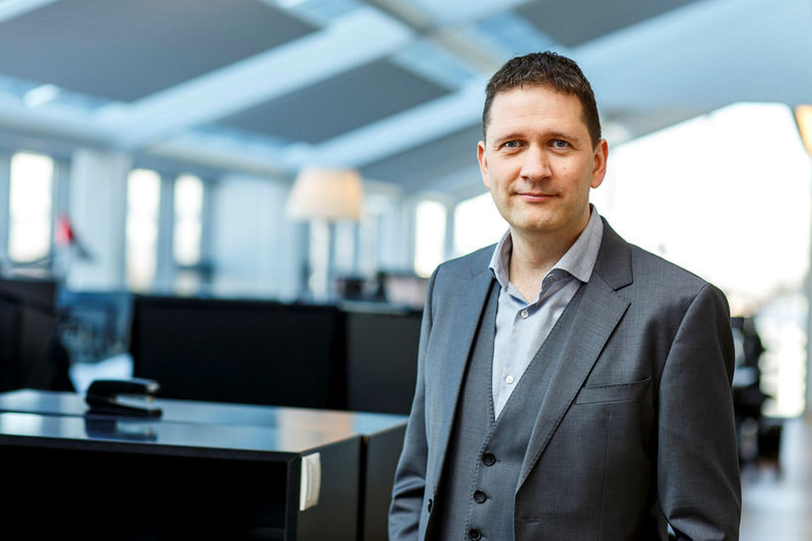 Garðar Hannes Friðjónsson, forstjóri Eikar fasteignafélags.