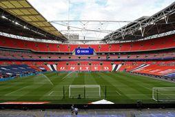 Úrslitaleikur EM 2021 fer fram á Wembley í London.