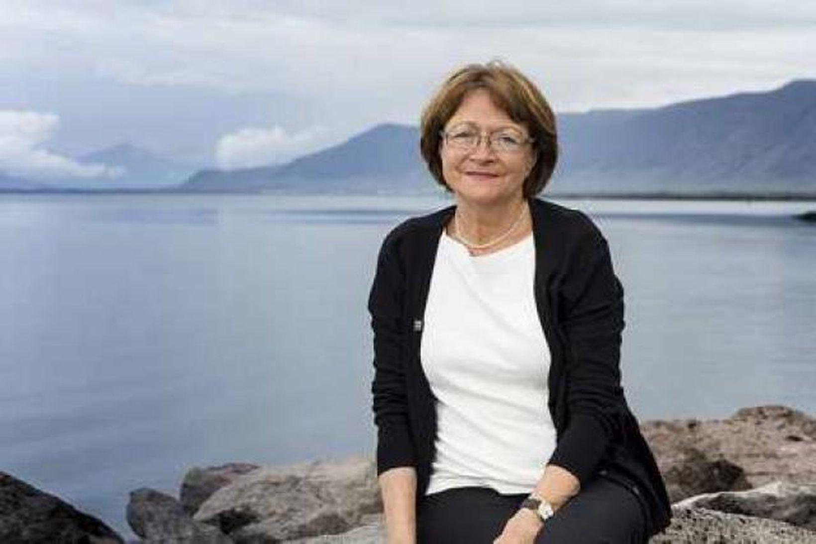 Erna Hauksdóttir.