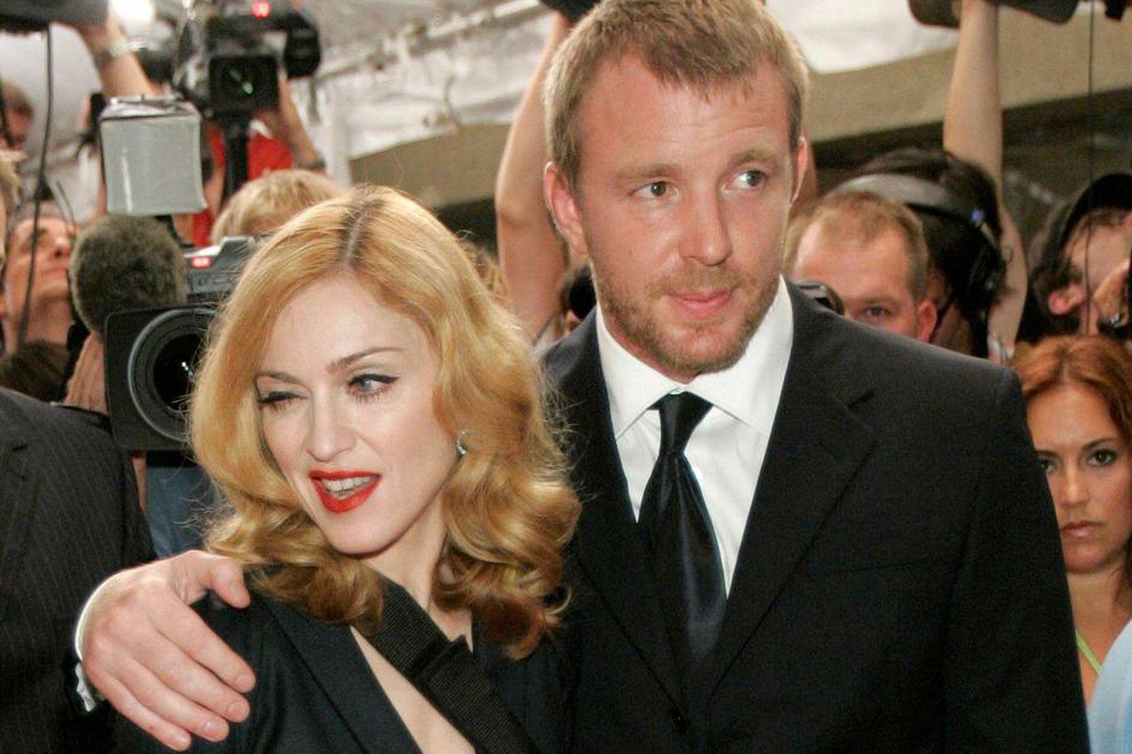 Madonna og Guy Ritchie eiga saman tvö börn.