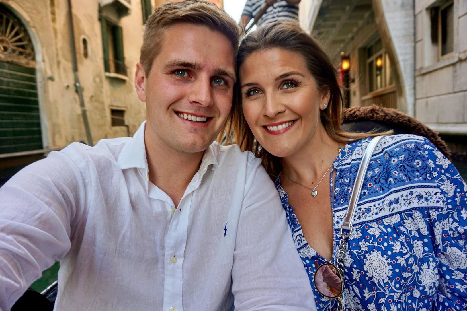 Ísak Ernir Kristinsson og Margrét Bjarnadóttir.