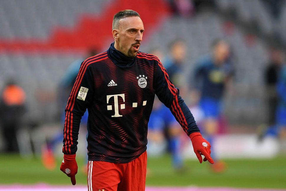 Franck Ribery er án félags eftir að samningur hans við ...