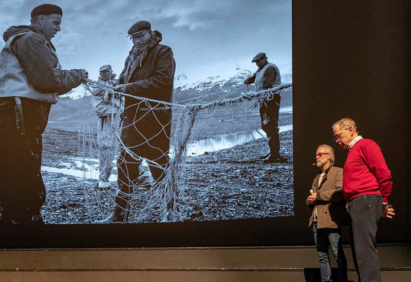 RAX and Oddur Sigurðsson spoke of the dark future for Iceland's glaciers.