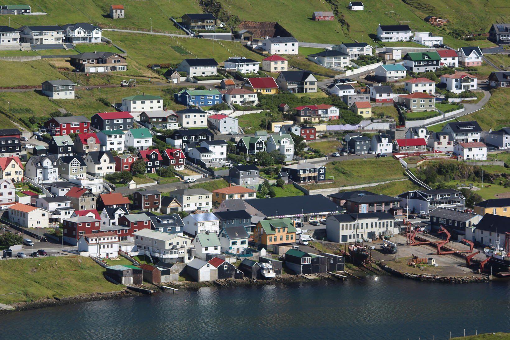 Vogur á Suðurey í Færeyjum.