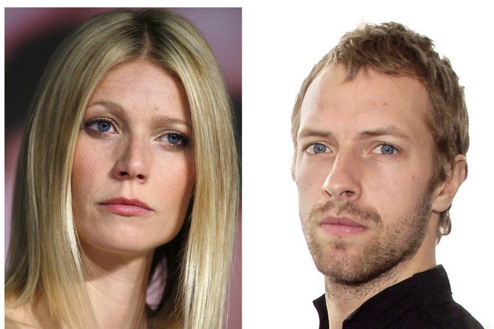 Gwyneth Paltrow og Chris Martin eiga börn saman.