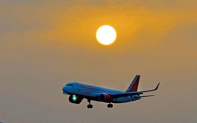 Flugvél Air India.