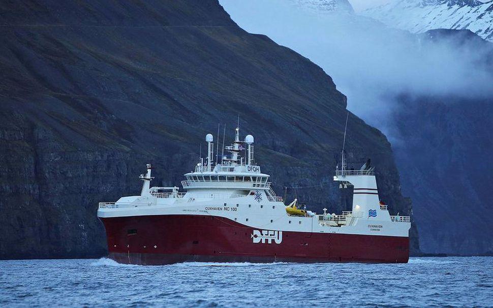 Cuxhaven undir Ólafsfjarðarmúla.
