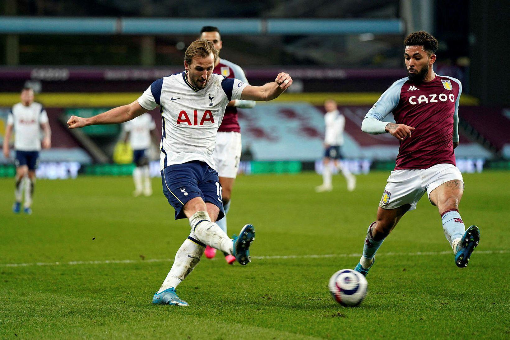 Harry Kane í leik með Tottenham á tímabilinu.