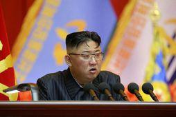 Kim Jong-un, leiðtogi Norður-Kóreu, lýsti yfir áhyggjum vegna matarskorts og loftlagskrísunnar.