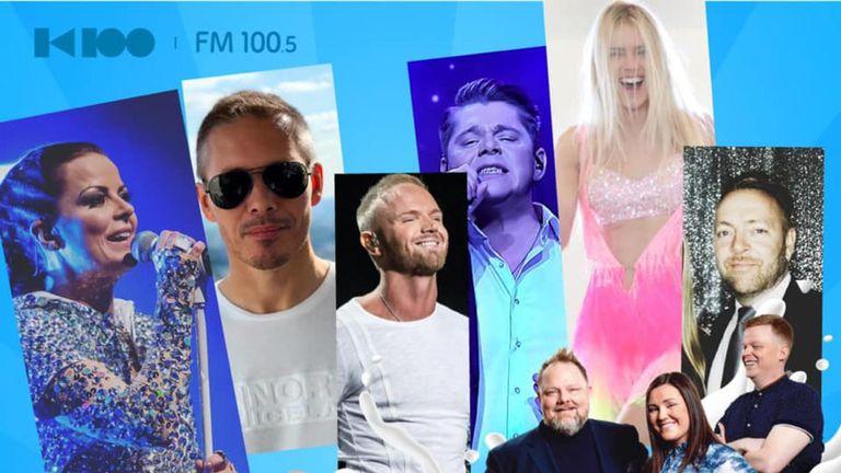 Í beinni: Eurovisionstemning úr sumarborginni Reykjavík