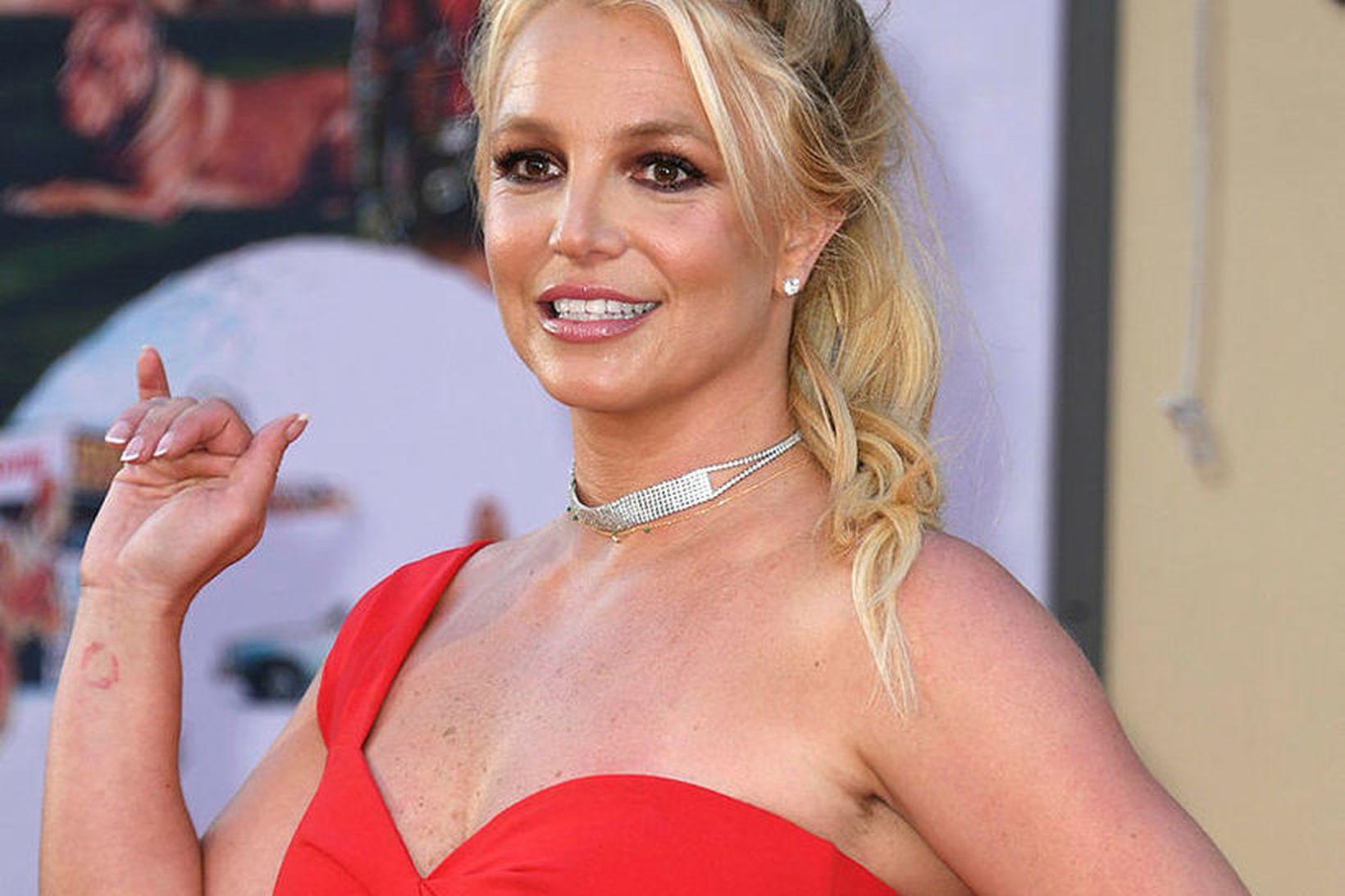 Britney Spears stefnir á að eyða meiri tíma með sonum …