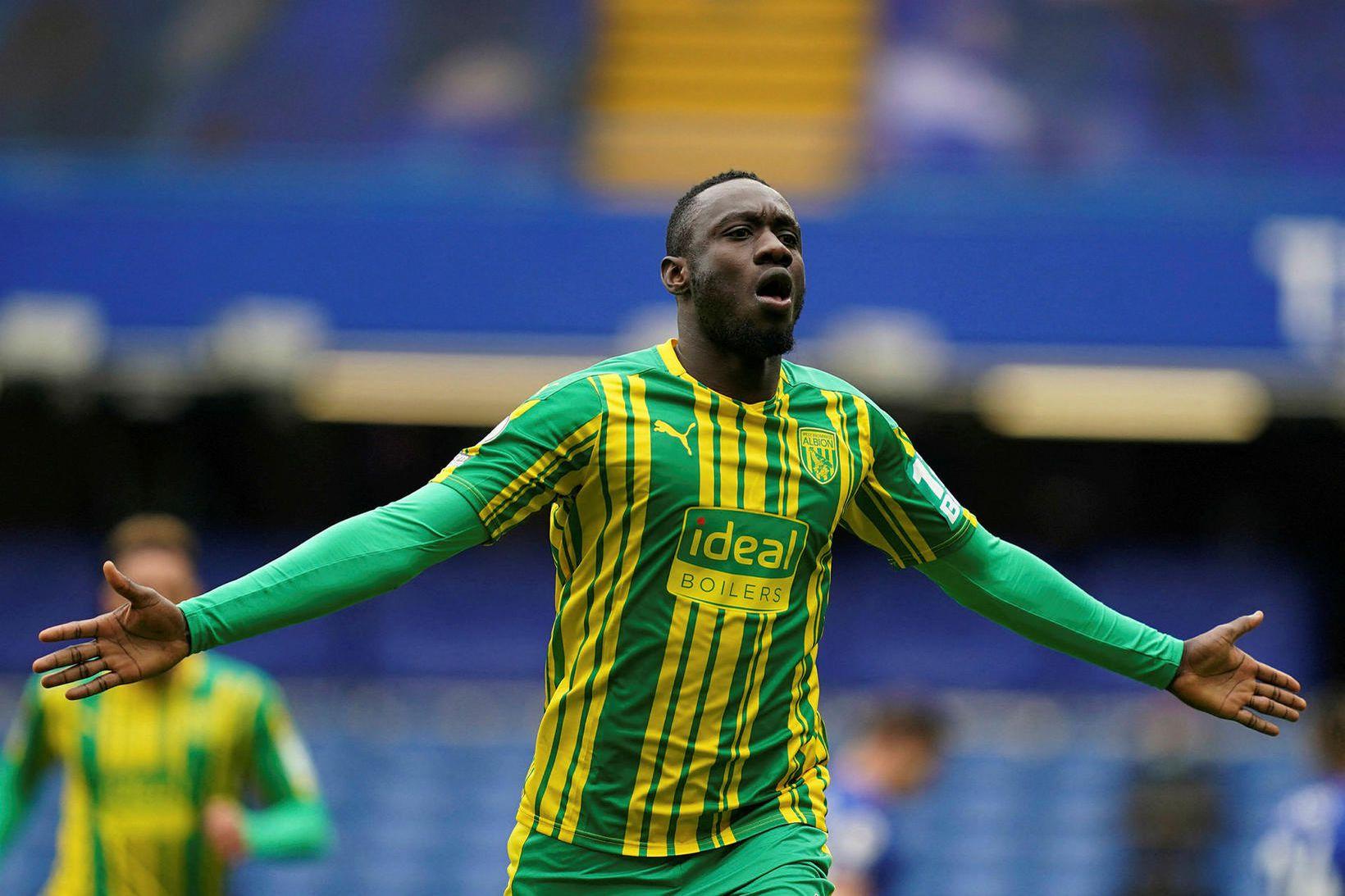 Mbaye Diagne skoraði fjórða mark West Brom á Stamford Bridge …