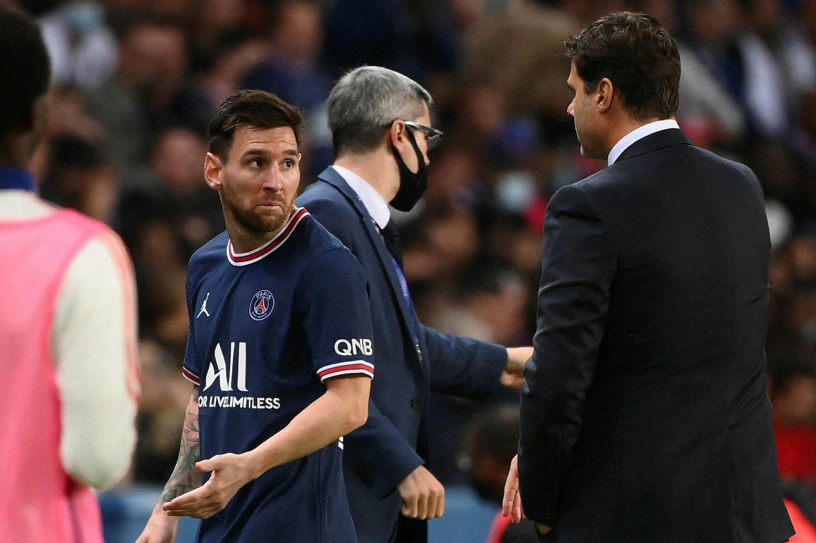 Lionel Messi neitaði að taka í höndina á Mauricio Pochettino …