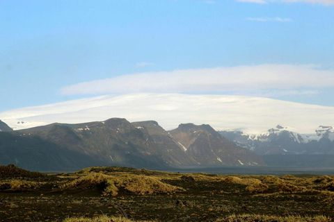 Mýrdalsjökull glacier.