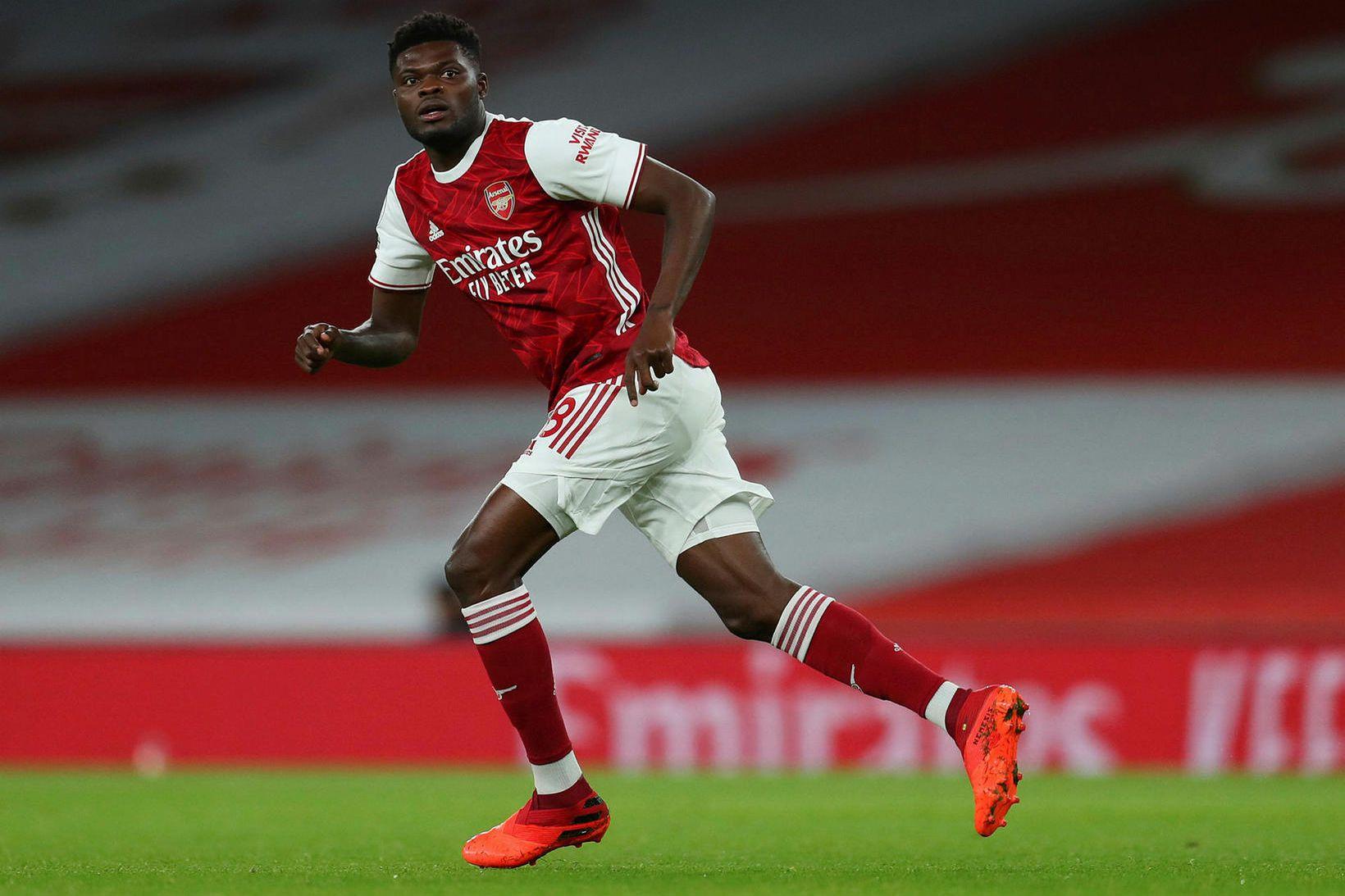 Thomas Partey gekk til liðs við Arsenal frá Atlético Madrid …