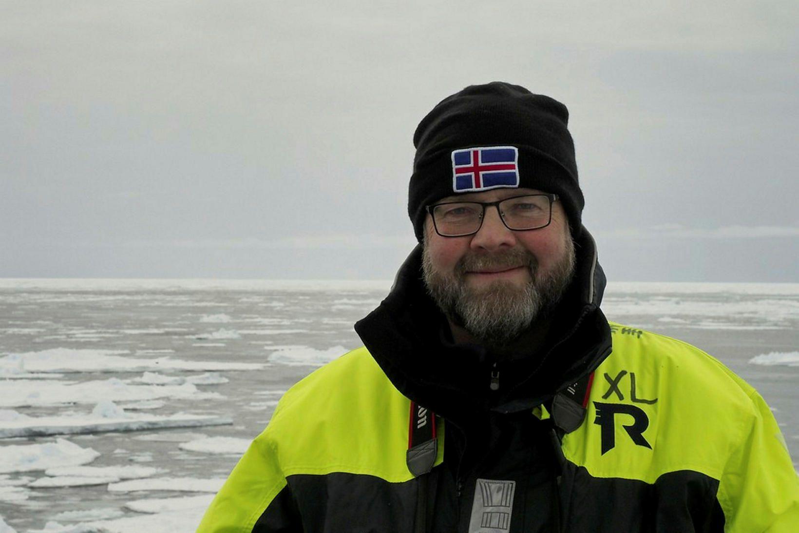 Elvar H. Hallfreðsson, vísindamaður hjá norsku hafrannsóknastofnuninni, segir breytingar í …