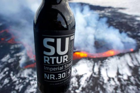 Surtur nr. 30 is an acclaimed Icelandic Stout