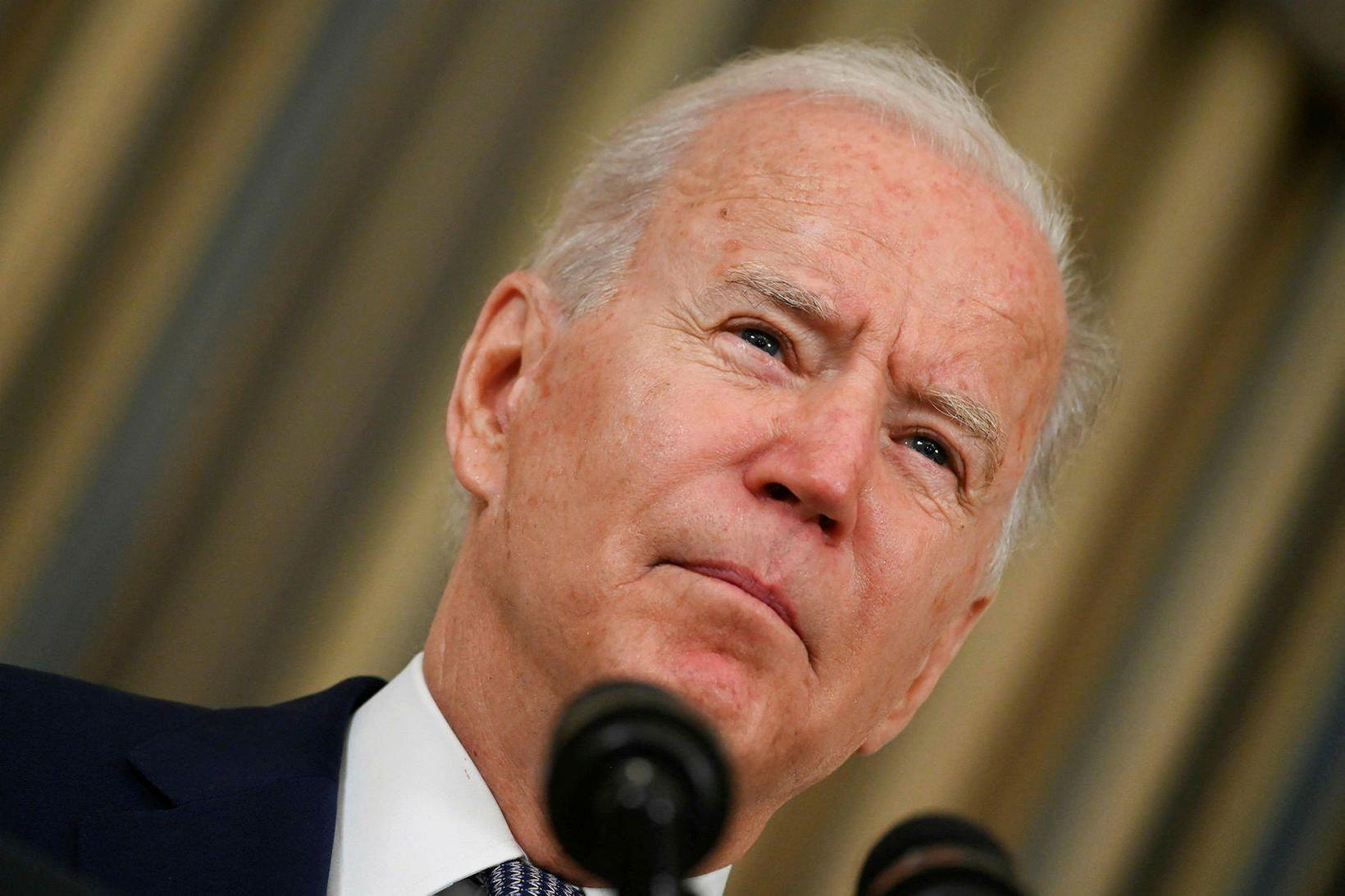 Joe Biden hefur með forsetatilskipun aflétt leynd yfir rannsóknargögnum FBI …
