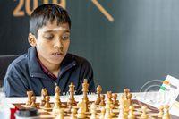Óvænt úrslit á heimsbikarmóti FIDE
