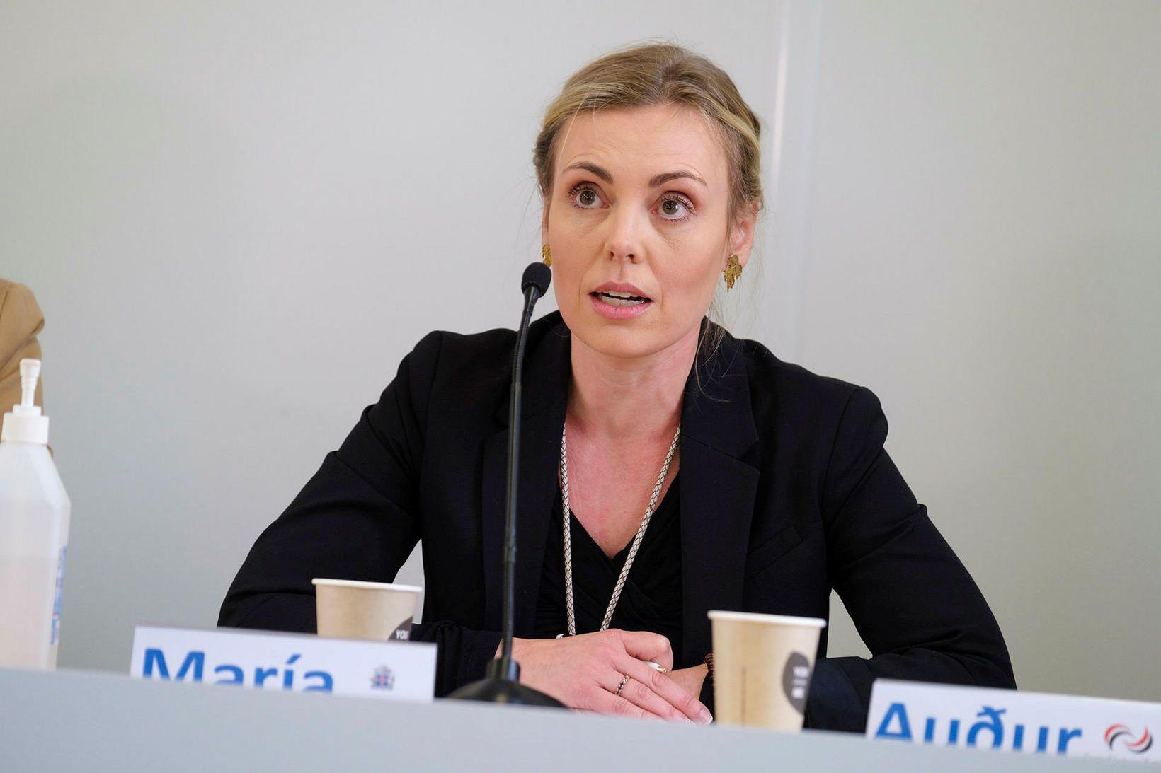 María Mjöll Jónsdóttir, deildarstjóri upplýsingadeildar utanríkisráðuneytisins.