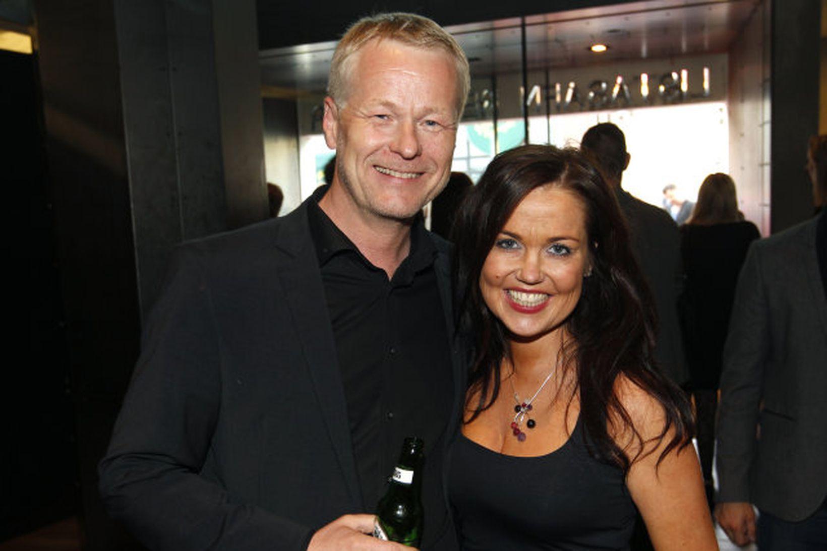 Andri Þór Guðmundsson og Marín Magnúsdóttir