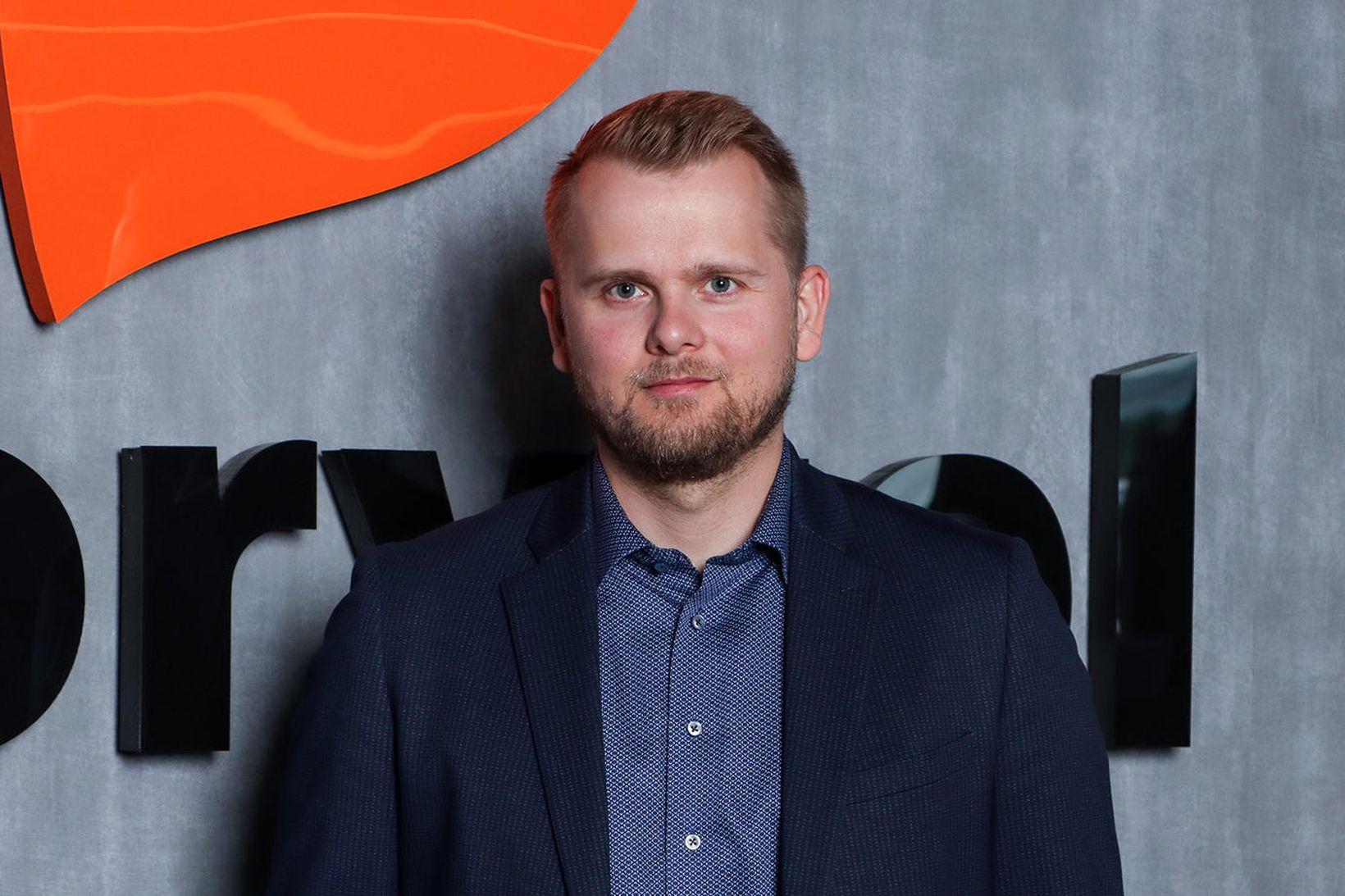 Arnar Bentsson, viðskiptastjóri hjá Storytel.