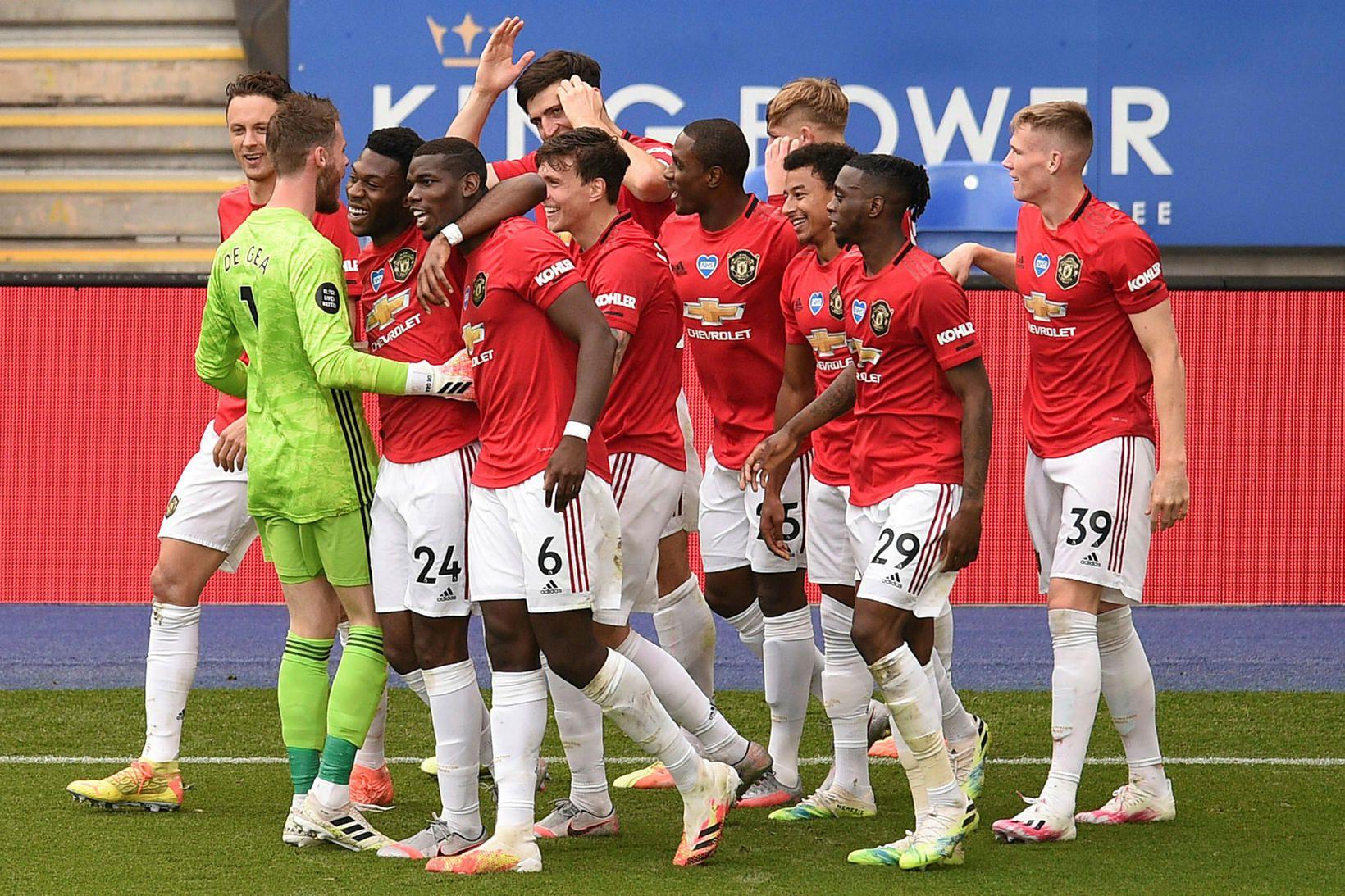 Manchester United er nánast öruggt með sæti í átta liða …